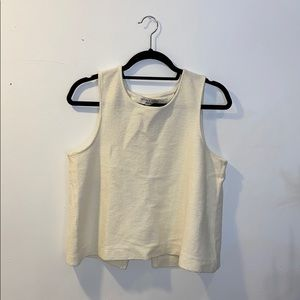 Madewell Open back tank top